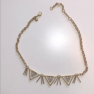 Gold JCrew necklace